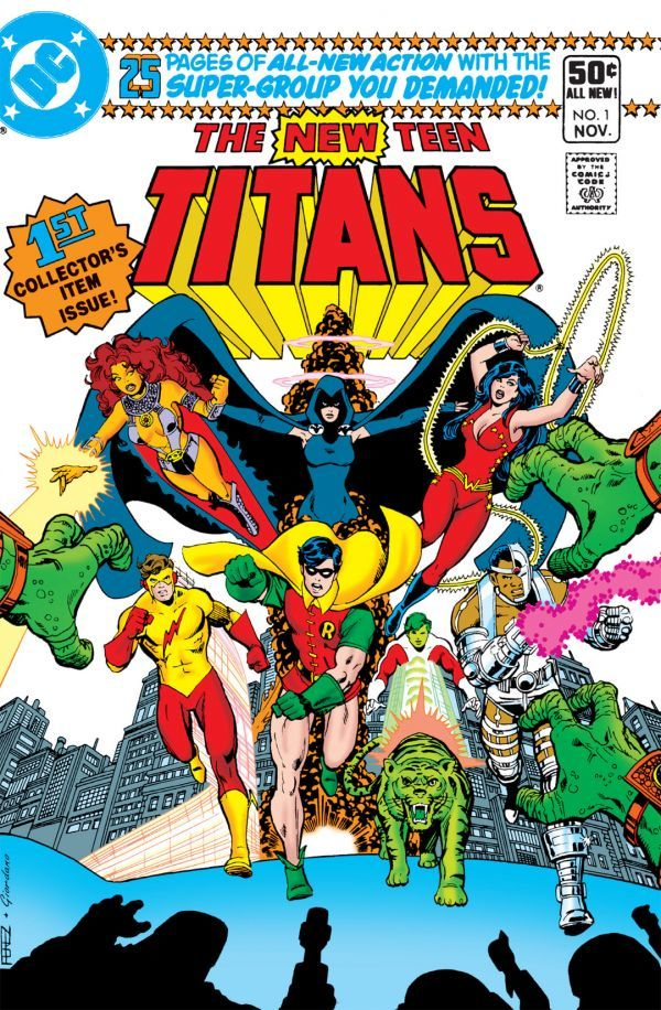 New Teen Titans #1