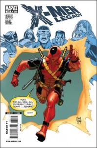 X-Men: Legacy #233 Deadpool Variant