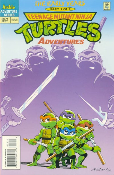 Teenage Mutant Ninja Turtles Adventures #71