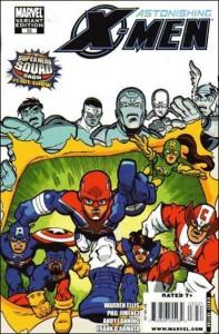 Astonishing X-Men #32 Super Hero Squad Variant