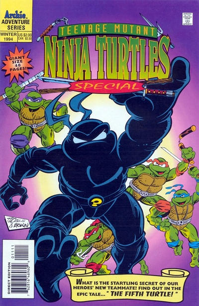 Teenage Mutant Ninja Turtles Special #11