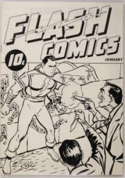 FLASH COMICS #1 Ashcan