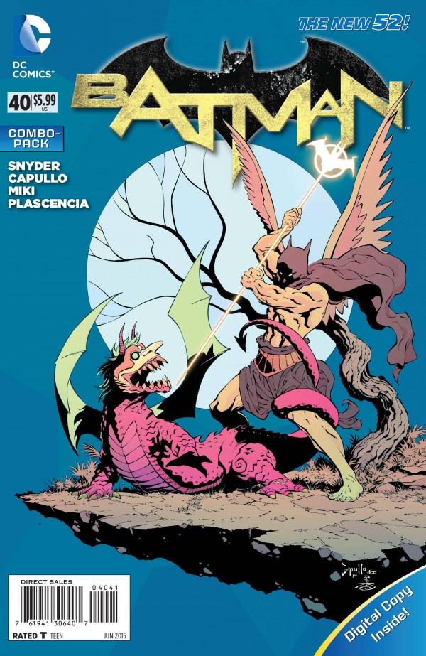Batman #40 Combo Pack Variant