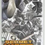 GameStop Secret Wars #1 Greg Horn Sketch Variant