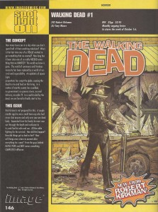Walking Dead Diamond Previews 2003 - Inside