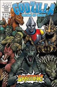 Godzilla: Rulers of the Earth #8