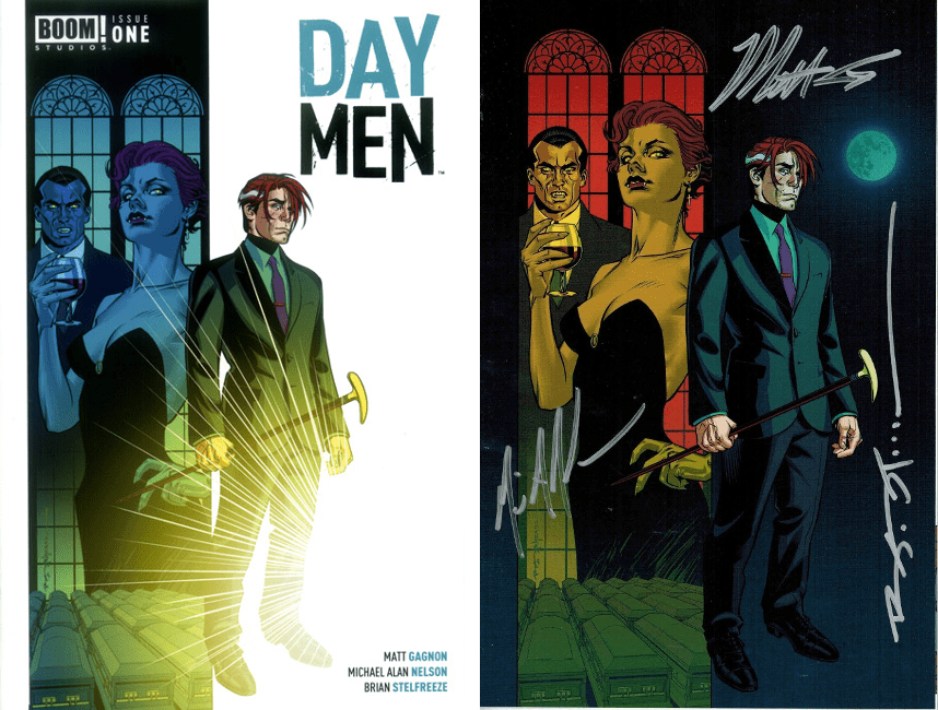 Day Men #1 Reg & Triple-Signed