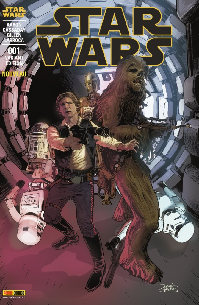 Star Wars #1 by Renato Guedes