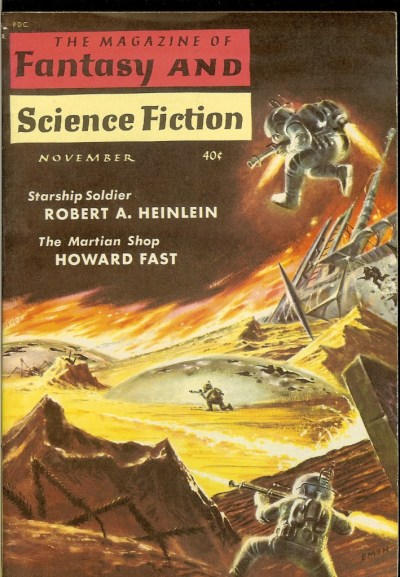 Magazine of Fantasy and Science Fiction Nov 59