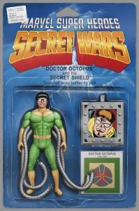 Secret Wars #3 Action Figure Variant
