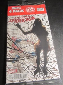 Amazing Spider-Man #4 Marvel 4-pack