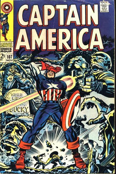 Captain America #107