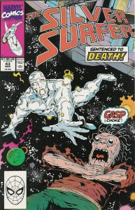 Silver Surfer #43 - Cover