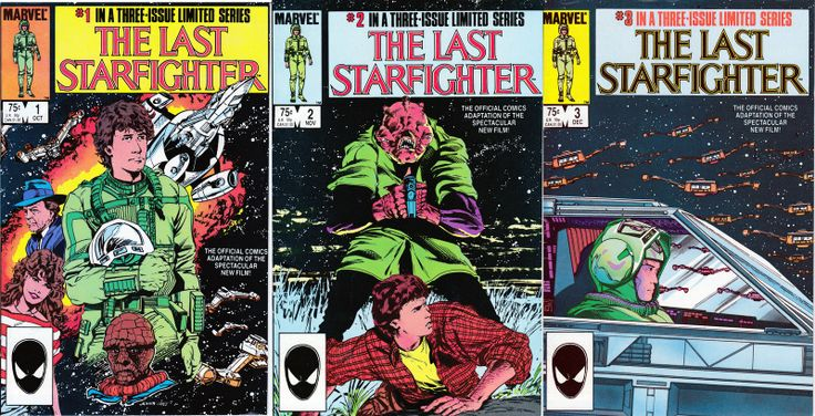 The Last Starfighter #1-3