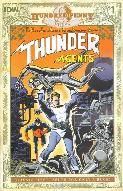 T.H.U.N.D.E.R. AGENTS #1 ( Hundred Penny Press Reprint )
