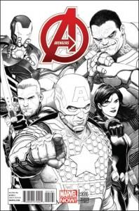 Avengers v5 #1 McNiven Variant