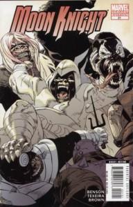 Moon Knight #21 Jason Pearson Marvel Apes Variant