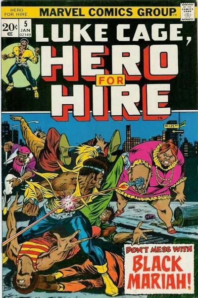 Luke Cage, Hero for Hire #5