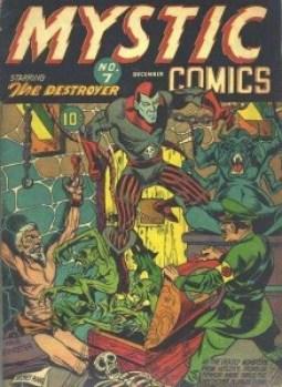 MYSTIC COMICS #7