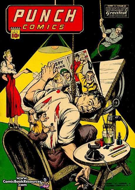 PUNCH COMICS #9