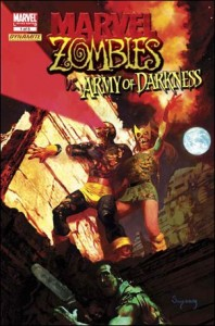 Marvel Zombies vs Army of Darkness #1 DF Exclusive