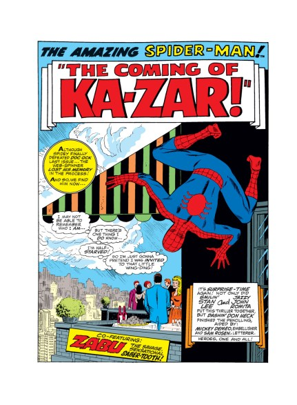 Amazing Spider-Man #57 - 1st Page