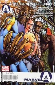 Marvel Apes: Speedball