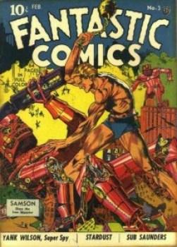 FANTASTIC COMICS #3