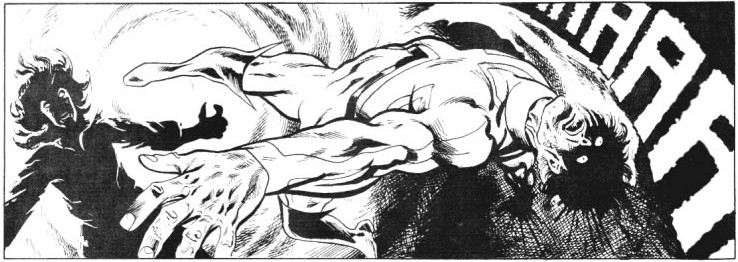 Panel from Captain Britain vol.2 #6