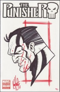 Dynamic Forces Ken Haeser Sketch limited to 50