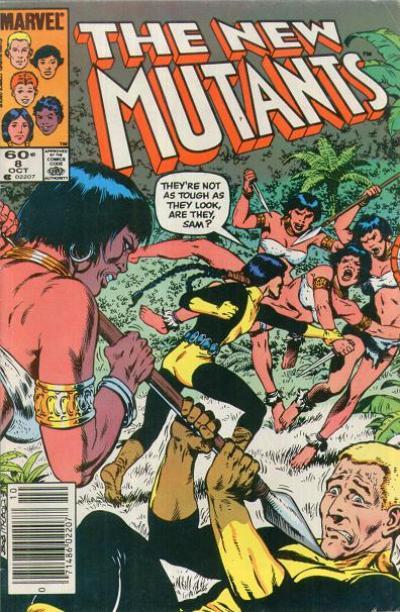 New Mutants #8 by Bob McLeod
