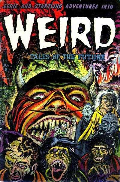 WEIRD TALES OF THE FUTURE #7