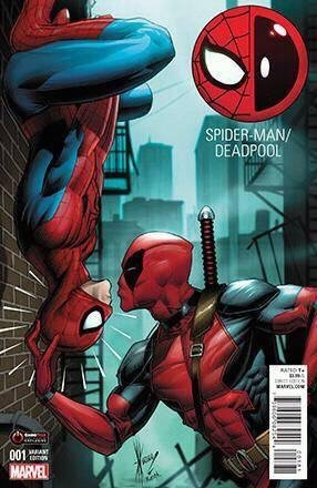 Deadpool / Spider-Man #1 Gamestop Exclusive