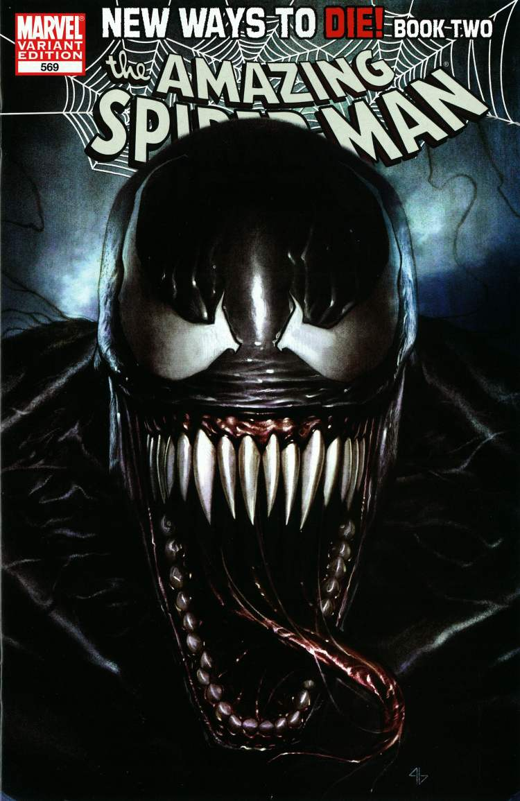 Amazing Spiderman Volume 5 #36 Venom Island variant 9.4