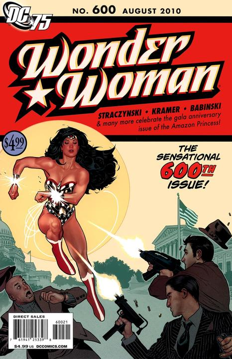 Wonder Woman #600 Adam Hughes 75th Anniversary Variant