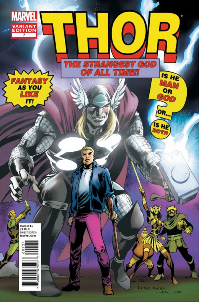 Mighty Thor 7 Marvel 50th Anniversary Variant
