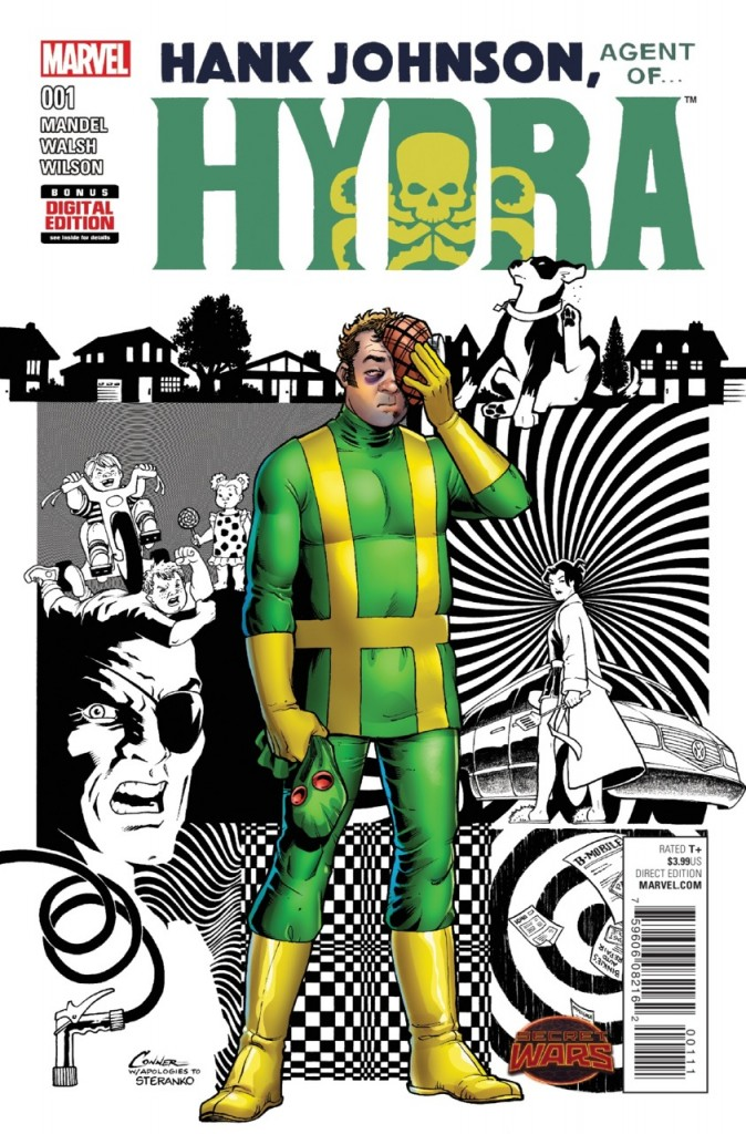 Hank Johnson:Agent of Hydra 1