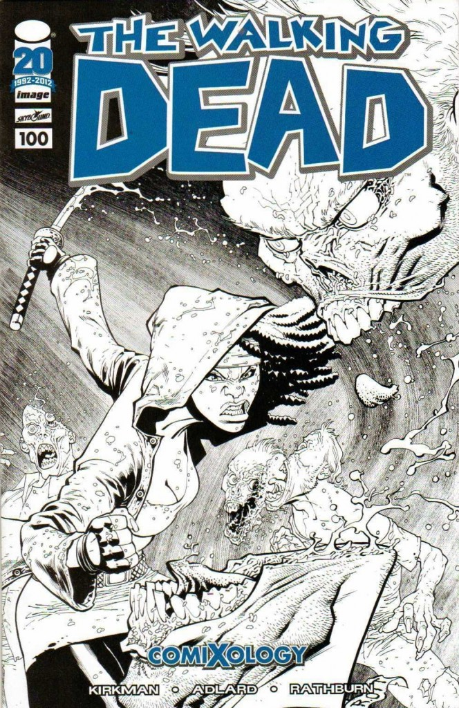 Walking Dead #100 Comixology Variant