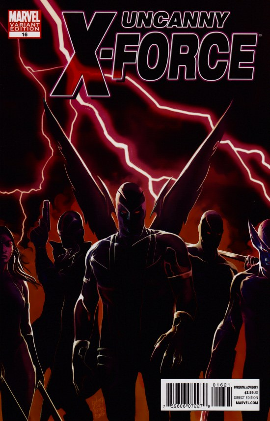 Uncanny X-Force #16 Marvel 50th Anniversary
