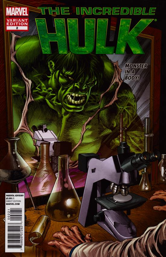Incredible Hulk #2 Mike Deodato Marvel 50th Anniversary