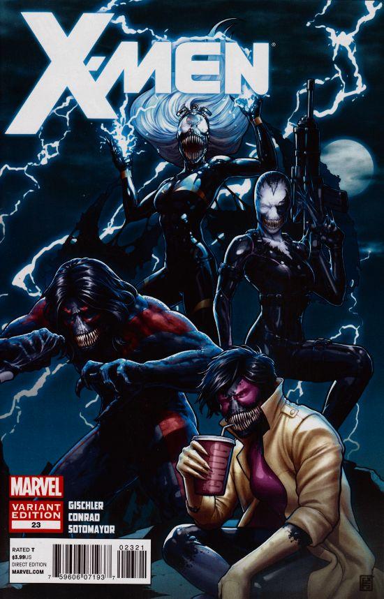 X-Men #23 Venom Variant