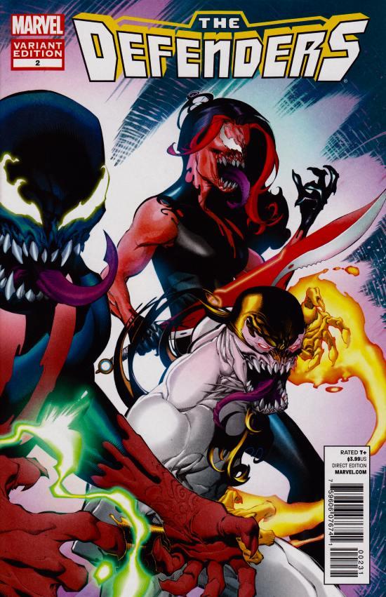 Defenders #2 Venom Variant