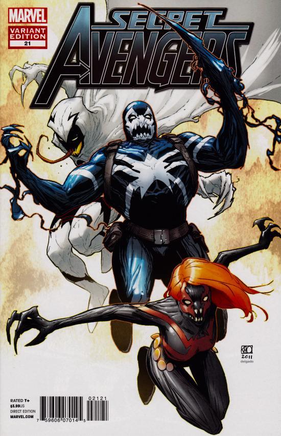 Secret Avengers #21 Venom Variant