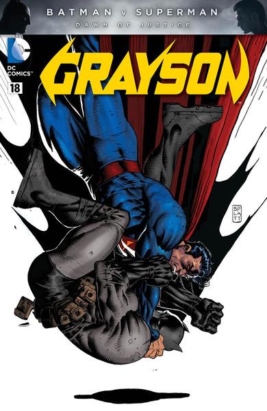 Grayson #18 Stephen Platt Variant