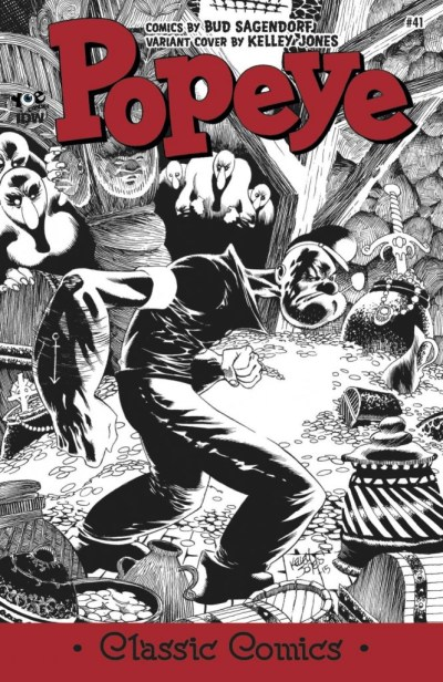 Classic Popeye #41 Kelley Jones 1:10 Variant