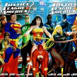 Justice League of America #12 A&B Covers – October 2007