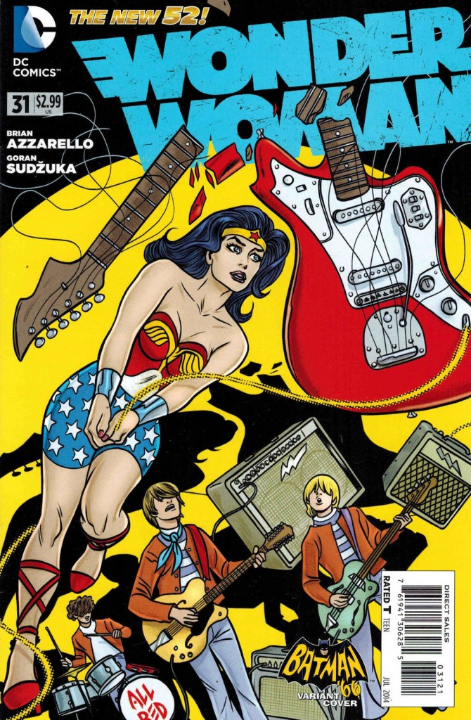 Wonder Woman #31 Mike Allred Variant