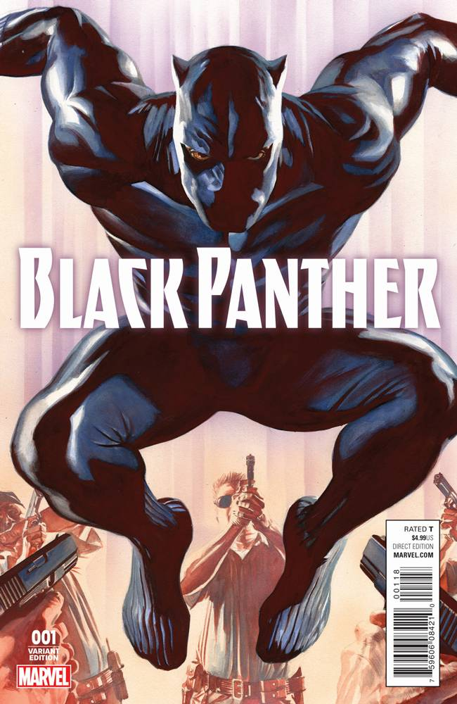 Black Panther #1 Alex Ross Variant