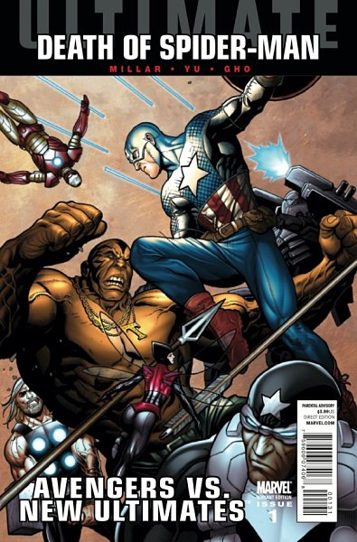 Avengers vs New Ultimates #1 Cho Variant