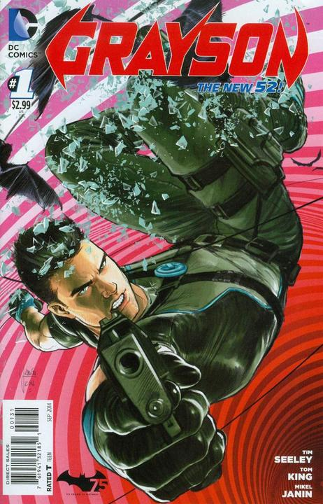 Grayson #1 Mike Janin Variant